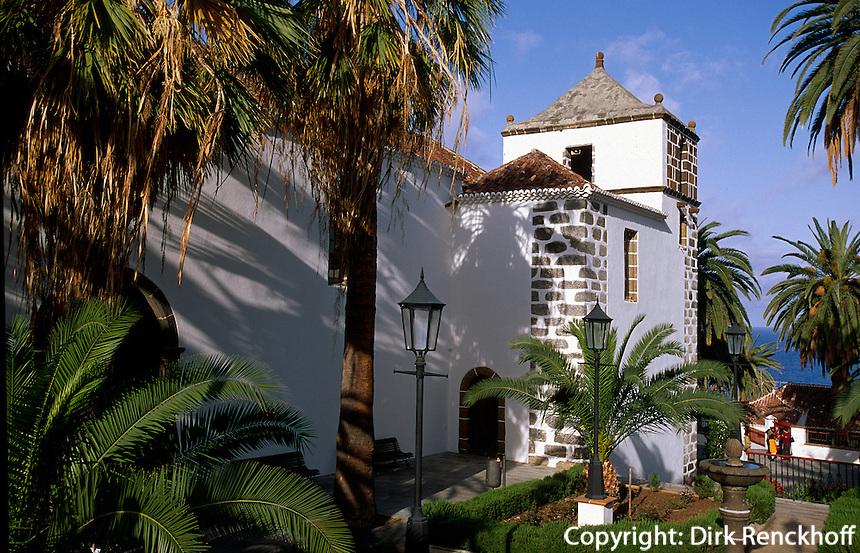 Spanien, Kanarische Inseln, La Palma, Iglesia San Andres Apostol in San Andres