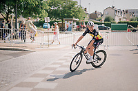 Yves Lampaert (BEL/Quick-Step Floors) before the start<br /> <br /> Stage 7: Fougères > Chartres (231km)<br /> <br /> 105th Tour de France 2018<br /> ©kramon