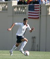 Benny Feilhaber runs upfield. USA defeated China, 4-1, at Spartan Stadium in San Jose, Calif., on June 2, 2007.