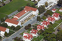 aerial photograph of office buildings in the Presidio, San Francisco, California