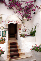 Osteriao dell Tempo perso, the white city of Ostuni, Puglia, South Italy.
