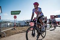 John Degenkolb (DEU/Trek-Segafredo) finishing <br /> <br /> Stage 15: Tineo to Santuario del Acebo (154km)<br /> La Vuelta 2019<br /> <br /> ©kramon