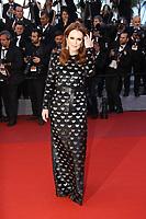 Julianne Moore sur le tapis rouge pour la projection du film en competition OKJA lors du soixante-dixiËme (70Ëme) Festival du Film ‡ Cannes, Palais des Festivals et des Congres, Cannes, Sud de la France, vendredi 19 mai 2017.