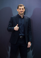 Iker Casillas at the presentation of the documentary series of the soccer goalkeeper Iker Casillas 'Colgar las alas' at the Movistar headquarters in Madrid on November 18, 2020. Credit: Action Press/MediaPunch **FOR USA ONLY**