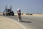Jaakko Hanninen (FIN) AG2R Citroen Team during Stage 2 of the 2021 UAE Tour an individual time trial running 13km around  Al Hudayriyat Island, Abu Dhabi, UAE. 22nd February 2021.  <br /> Picture: Eoin Clarke | Cyclefile<br /> <br /> All photos usage must carry mandatory copyright credit (© Cyclefile | Eoin Clarke)