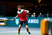 Rotterdam, The Netherlands, 12 Februari 2020, ABNAMRO World Tennis Tournament, Ahoy. Robin Haase (NED).<br /> Photo: www.tennisimages.com
