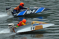 1-V and 10-F  (Outboard Runabout)