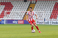 Tom Pett of Stevenage FC during Stevenage vs Concord Rangers , Emirates FA Cup Football at the Lamex Stadium on 7th November 2020