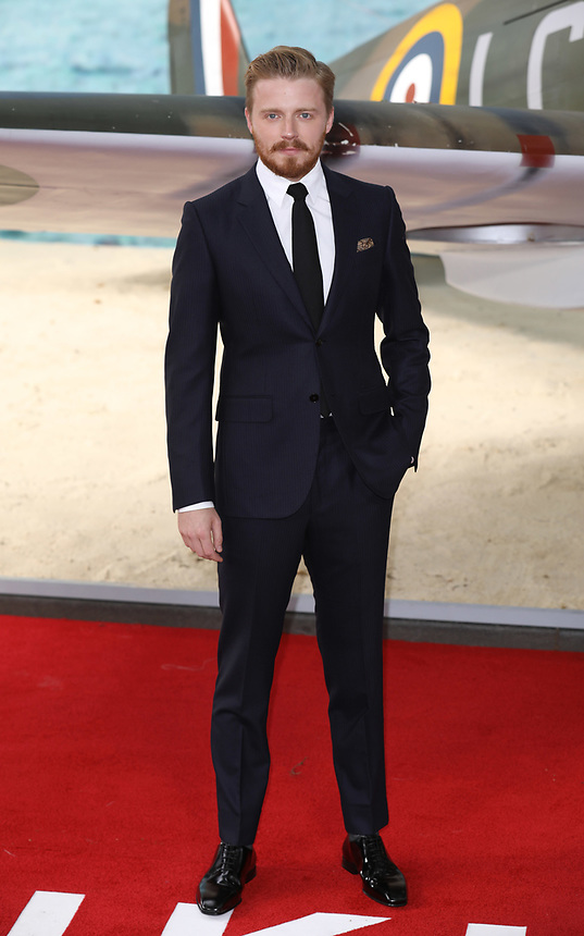 """Jack Lowden<br /> at the """"Dunkirk"""" World Premiere at Odeon Leicester Square, London. <br /> <br /> <br /> ©Ash Knotek  D3289  13/07/2017"""