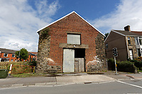 A disused and dilapidated church, Carmarthen Road near Cwmbwrla roundabout in Swansea, Wales, UK. Thursday 16 August 2018