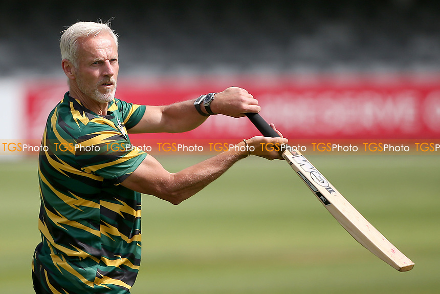 Nottinghamshire head coach Peter Moores in the warm up ahead of Essex CCC vs Nottinghamshire CCC, LV Insurance County Championship Group 1 Cricket at The Cloudfm County Ground on 6th June 2021