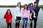 The Dunova family enjoying a walk in the Tralee Wetlands on Saturday evening. Martha, Ester, Barbara, Amalia and Nikolas Dunova.