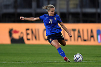 Valentina Cernoia of Italy in action during the Women s EURO 2022 qualifying football match between Italy and Denmark at stadio Carlo Castellani in Empoli (Italy), October, 27th, 2020. Photo Andrea Staccioli / Insidefoto