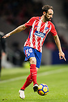 Juan Francisco Torres Belen, Juanfran, of Atletico de Madrid in action during the La Liga 2017-18 match between Atletico de Madrid and Valencia CF at Wanda Metropolitano on February 04 2018 in Madrid, Spain. Photo by Diego Souto / Power Sport Images