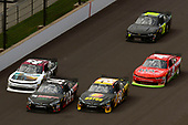 NASCAR XFINITY Series<br /> Lilly Diabetes 250<br /> Indianapolis Motor Speedway, Indianapolis, IN USA<br /> Saturday 22 July 2017<br /> Jeb Burton, Estes Express Lines Toyota Camry and JJ Yeley, Superior Essex Toyota Camry<br /> World Copyright: Nigel Kinrade<br /> LAT Images