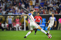 Houston, TX - Tuesday June 21, 2016: Geoff Cameron during a Copa America Centenario semifinal match between United States (USA) and Argentina (ARG) at NRG Stadium.