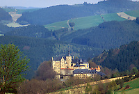 - Germany, Ludwigsstadt castle in Bavaria....- Germania, castello di Ludwigsstadt in Baviera