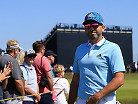 15th July 2021; Royal St Georges Golf Club, Sandwich, Kent, England; The Open Championship, PGA Tour, European Tour Golf, First Round ; Sergio Garcia (ESP) walks to the tee on the 2nd hole