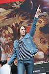 Tom Meighan of Kasabian at Slane 2009...Photo NEWSFILE/Jenny Matthews.(Photo credit should read Jenny Matthews/NEWSFILE)....This Picture has been sent you under the condtions enclosed by:.Newsfile Ltd..The Studio,.Millmount Abbey,.Drogheda,.Co Meath..Ireland..Tel: +353(0)41-9871240.Fax: +353(0)41-9871260.GSM: +353(0)86-2500958.email: pictures@newsfile.ie.www.newsfile.ie.FTP: 193.120.102.198.