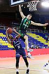 LLIGA NACIONAL CATALANA ACB 2020 AON.<br /> Morabanc Andorra vs Club Joventut Badalona: 77-75.<br /> Clevin Hannah vs Nenad Dimitrijevic.