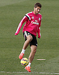 Real Madrid's Lucas Silva during training session.January 30,2015.(ALTERPHOTOS/Acero)