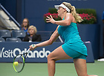 September  6, 2017:  Coco Vandeweghe (USA) defeated Karolina Pliskova (CZE)  7-6, 6-3 to move into the semifinals  at the US Open being played at Billy Jean King Ntional Tennis Center in Flushing, Queens, New York. Leslie Billman/EQ