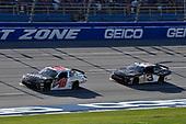 #18: Noah Gragson, Joe Gibbs Racing, Toyota Camry Switch and #3: Shane Lee, Richard Childress Racing, Chevrolet Camaro