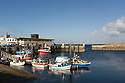 Roscoff - Bretagna, 27 agosto 2020.  Il porto peschereccio.