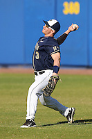 Pittsburgh Panthers Sean Toole #3 during a game vs. the Central Michigan Chippewas at Chain of Lakes Park in Winter Haven, Florida;  March 11, 2011.  Pittsburgh defeated Central Michigan 19-2.  Photo By Mike Janes/Four Seam Images
