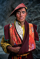Tibetan Buddhist Pilgrim, Kandze, Kham, Tibet, 2004.