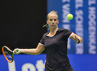 Rotterdam, Netherlands, December 17, 2015,  Topsport Centrum, Lotto NK Tennis, Richel Hogenkamp (NED)<br /> Photo: Tennisimages/Henk Koster
