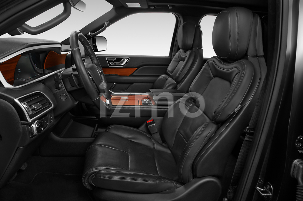 Front seat view of 2020 Lincoln Navigator Reserve-L 5 Door SUV Front Seat  car photos