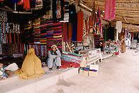 Woman market next to the refugee camp, in Peshawar Pakistan