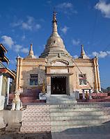 Myanmar, Burma, Kalaw.  Aung Chan Thar Zedi Stupa.