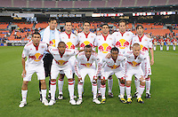 New York Red Bulls Starting Eleven.  DC United defeated the New York Red Bulls 2-0, at RFK Stadium ,Thursday June 4, 2009.