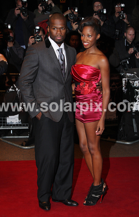 **ALL ROUND PICTURES FROM SOLARPIX.COM**.**WORLDWIDE SYNDICATION RIGHTS**.The UK film premiere of 'Dead Man Running', at the Odeon West End in London...This pic:50 Cent and Jamelia..JOB REF:10178       LNJ     DATE:24.10.09.**MUST CREDIT SOLARPIX.COM OR DOUBLE FEE WILL BE CHARGED**.**MUST NOTIFY SOLARPIX OF ONLINE USAGE**.**CALL US ON: +34 952 811 768 or LOW RATE FROM UK 0844 617 7637**
