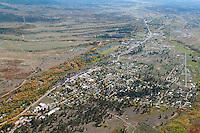 aerial of Chama, NM