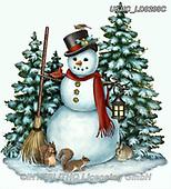 Liz,CHRISTMAS SANTA, SNOWMAN, WEIHNACHTSMÄNNER, SCHNEEMÄNNER, PAPÁ NOEL, MUÑECOS DE NIEVE, paintings+++++,USHCLD0208C,#x#