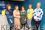 Sisters Bridie O'Sullivan, Katie O'Leary and Noreen O'Connor from Causeway with Marion Barnes of  Recovery Haven and Mary Gleasure from Tralee at the CH Chemist Wellness Recovery Haven fundraiser on Saturday morning