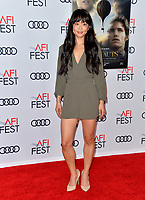 "LOS ANGELES, USA. November 20, 2019: Alice Lee at the gala screening for ""The Aeronauts"" as part of the AFI Fest 2019 at the TCL Chinese Theatre.<br /> Picture: Paul Smith/Featureflash"