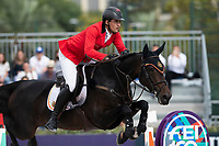 3rd October 2021;  Real Club de Polo, Barcelona, Spain; CSIO5 Longines FEI Jumping Nations Cup Final 2021; Nicola Philippearts from German during the FEI Jumping Nations Cup Final 2021