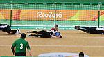 Simon Richard, Rio 2016 - Goalball.<br /> Team Canada plays Brazil in the men's goalball // Équipe Canada affronte le Brésil au goalball masculin. 09/09/2016.