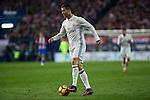 Real Madrid's Cristiano Ronaldo  during the match of La Liga between Atletico de Madrid and Real Madrid at Vicente Calderon Stadium  in Madrid , Spain. November 19, 2016. (ALTERPHOTOS/Rodrigo Jimenez)