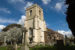 Granchester Cambridgeshire UK The church of