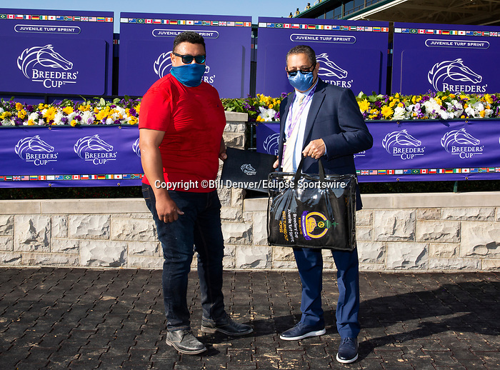 November 6, 2020: Best Turned Out horse, Juvenile Turf Sprint on Breeders' Cup Championship Friday at Keeneland on November 6, 2020: in Lexington, Kentucky. Bill Denver/Breeders' Cup/Eclipse Sportswire/CSM