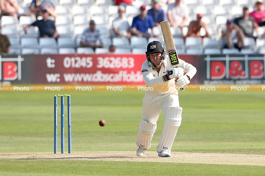 Ryan Higgins in batting action for Gloucestershire during Essex CCC vs Gloucestershire CCC, LV Insurance County Championship Division 2 Cricket at The Cloudfm County Ground on 7th September 2021