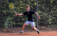 Hilversum, Netherlands, August 5, 2021, Tulip Tennis center, National Junior Tennis Championships 16 and 18 years, NJK,Boys single 18 years, Jip Mens (NED)<br /> Photo: Tennisimages/Henk Koster