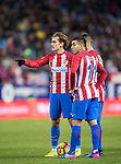 Antoine Griezmann of Atletico de Madrid reacts during their La Liga match between Atletico de Madrid and Deportivo Leganes at the Vicente Calderón Stadium on 04 February 2017 in Madrid, Spain. Photo by Diego Gonzalez Souto / Power Sport Images