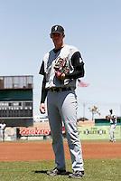 Tim Alderson  -  2009 San Jose Giants (California League)..Photo by:  Bill Mitchell/Four Seam Images