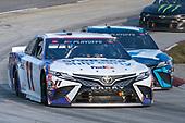 #11: Denny Hamlin, Joe Gibbs Racing, Toyota Camry FedEx Ground, #19: Martin Truex Jr., Joe Gibbs Racing, Toyota Camry Auto-Owners Insurance